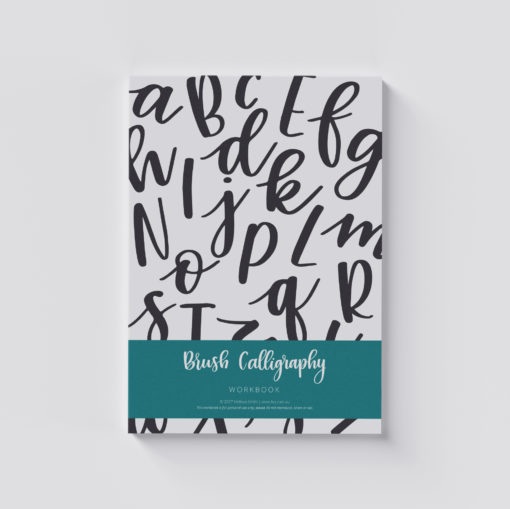 Lissletters Brush Calligraphy Workbook
