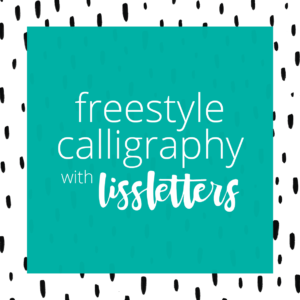 Freestyle Calligraphy-