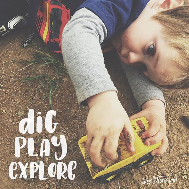 My day 1 and 2 of for August. My best thing today - watching him play with dirt and trucks for an hour while the big boys played basketball + his happy place - dirt and trucks!! Love him so very much. ️️