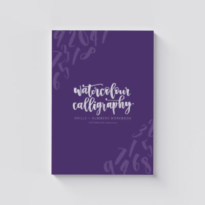Watercolour Calligraphy Drills